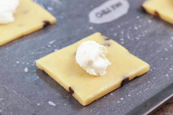 Keto Chocolate Chip Pop Tarts