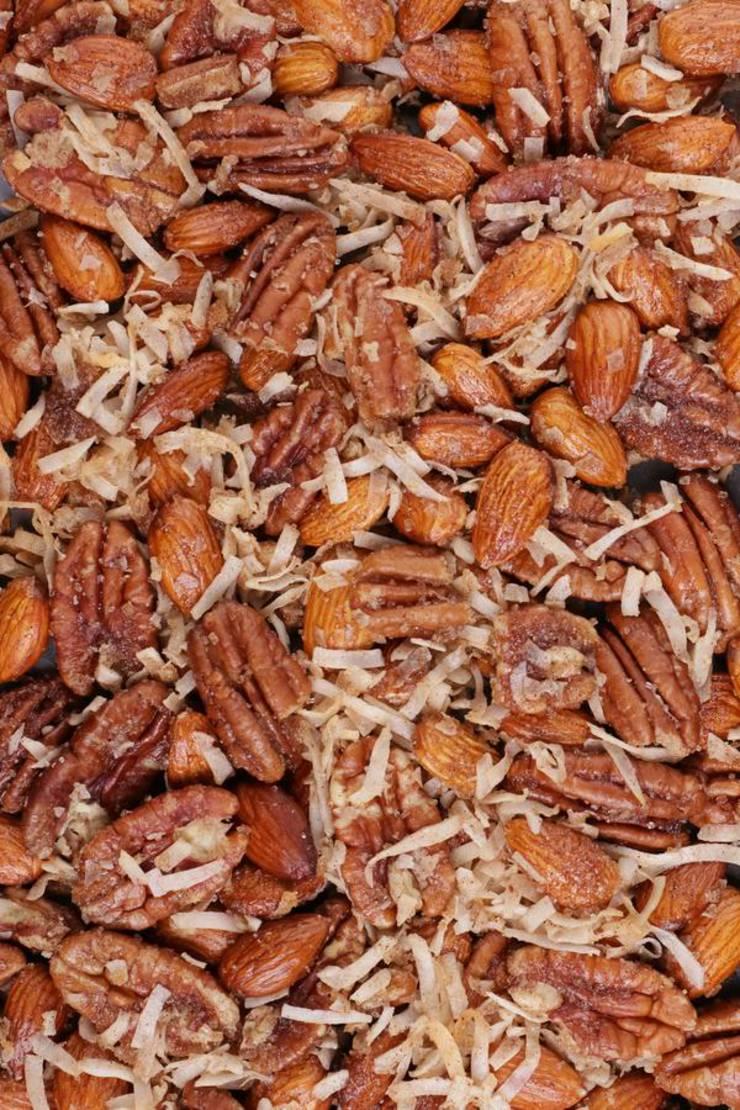 Keto Cinnamon Toast Crunch Granola