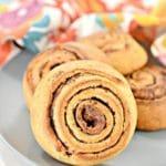 Keto Cinnamon Rolls - Super Yummy Low Carb Copycat Starbucks Morning Buns Recipe For Ketogenic Diet - Gluten Free