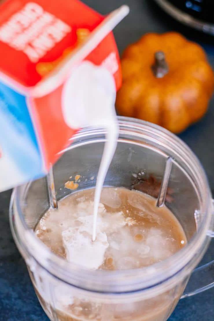 Keto Copycat Starbucks Pumpkin Spice Latte