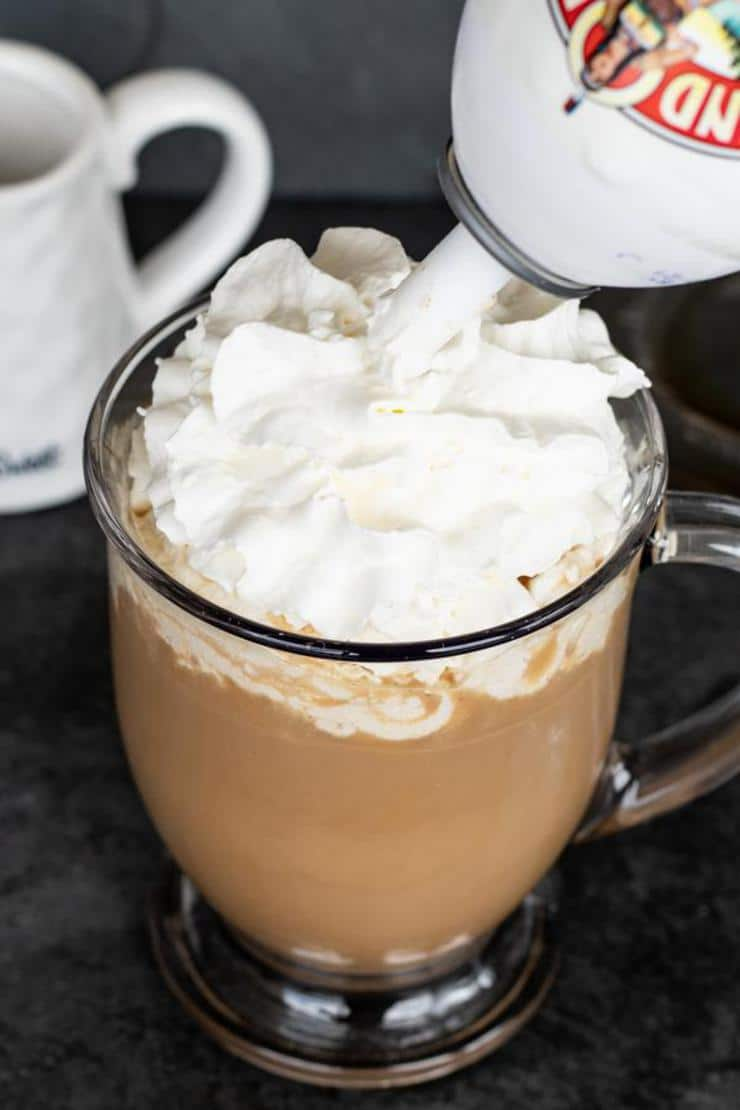 Keto Copycat Starbucks White Chocolate Mocha