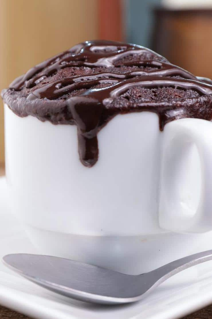 BEST Keto Mug Cakes! Low Carb Microwave Chocolate Hot Fudge Brownie Idea – Quick & Easy Ketogenic Diet Recipe – Completely Keto Friendly Baking – Gluten Free