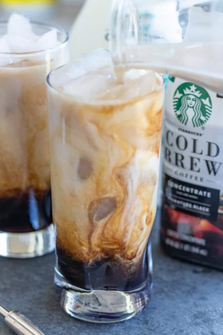 Keto Iced Caramel Latte