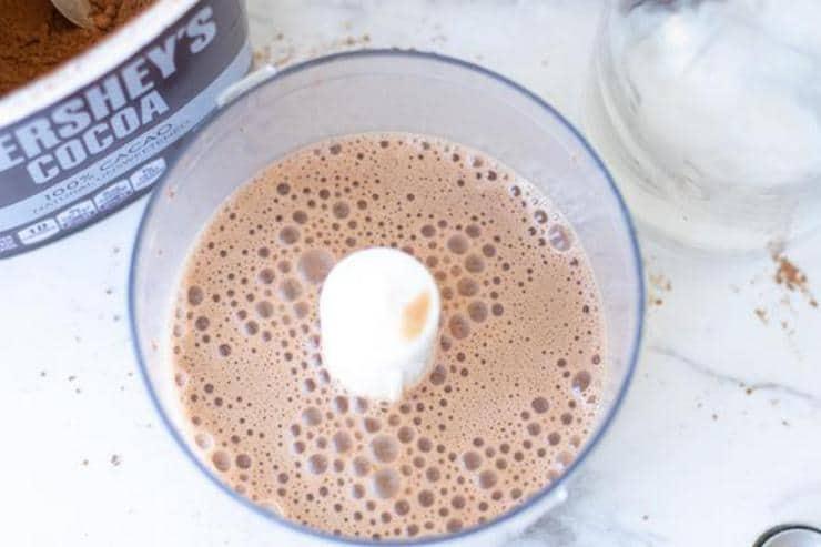 Keto Iced Caramel Mocha