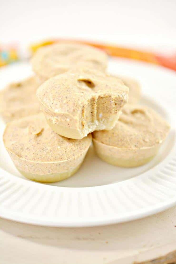 Keto Pumpkin Pie! BEST Low Carb Keto No Bake Pumpkin Pie Bites Idea – Quick & Easy Ketogenic Diet Recipe – Desserts – Snacks - Gluten Free