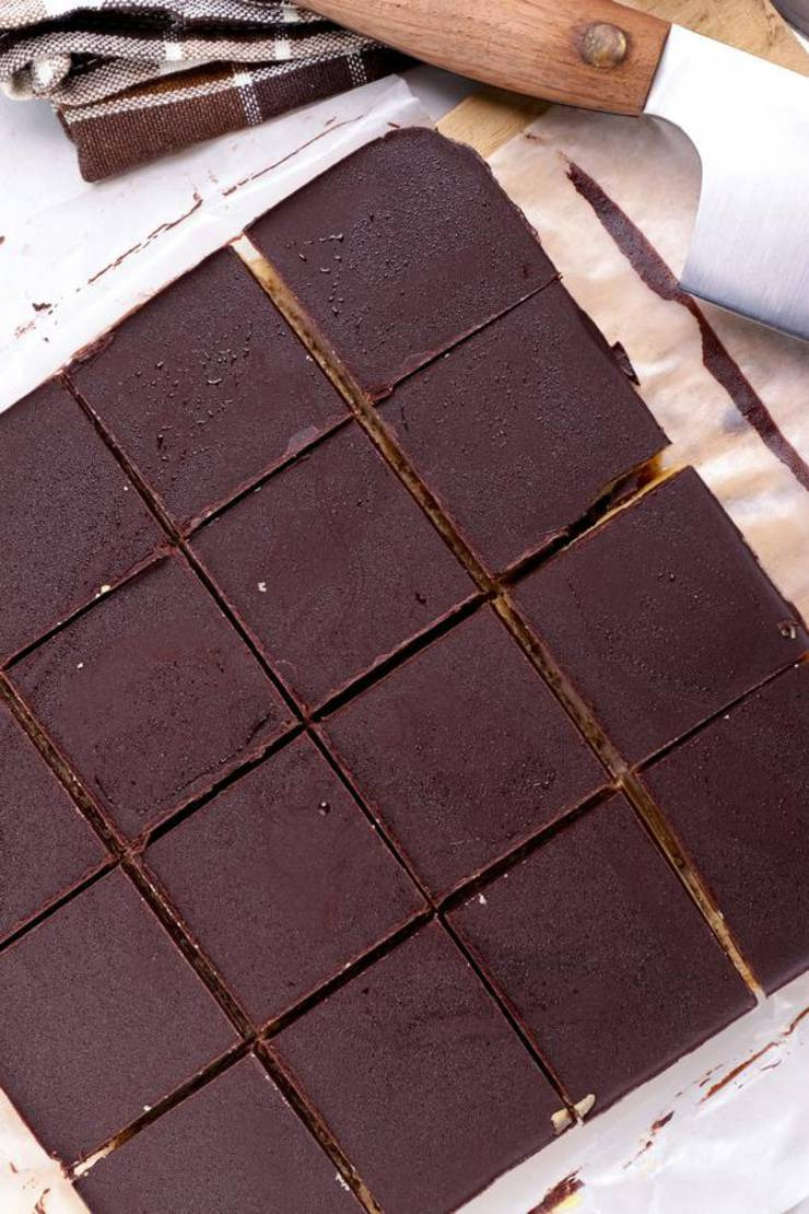 Keto Peanut Butter Chocolate Bars_Low Carb