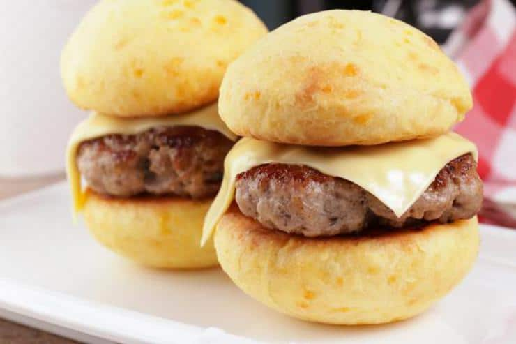 Keto Breakfast Sandwich! BEST Low Carb Keto Sausage And Cheese Biscuits Idea – Quick & Easy Ketogenic Diet Recipe – Beginner Keto Friendly – Gluten Free