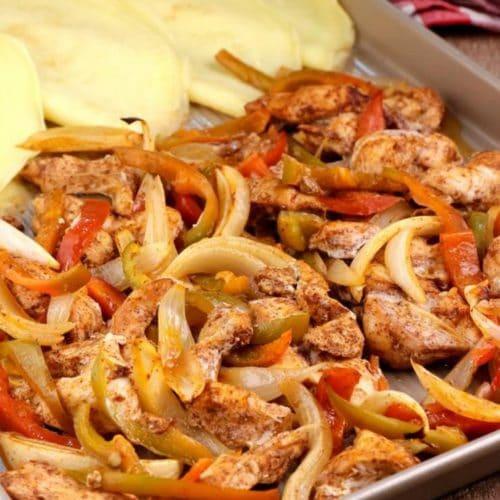 Keto Fajitas! BEST Low Carb Sheet Pan Fajita Idea – Quick & Easy Ketogenic Diet Recipe – Keto Friendly & Beginner – Dinner - Lunch