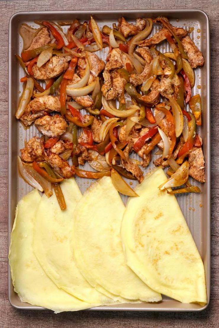 Keto Fajitas! BEST Low Carb Sheet Pan Fajita Idea – Quick & Easy Ketogenic Diet Recipe – Keto Friendly & Beginner – Dinner - Lunch