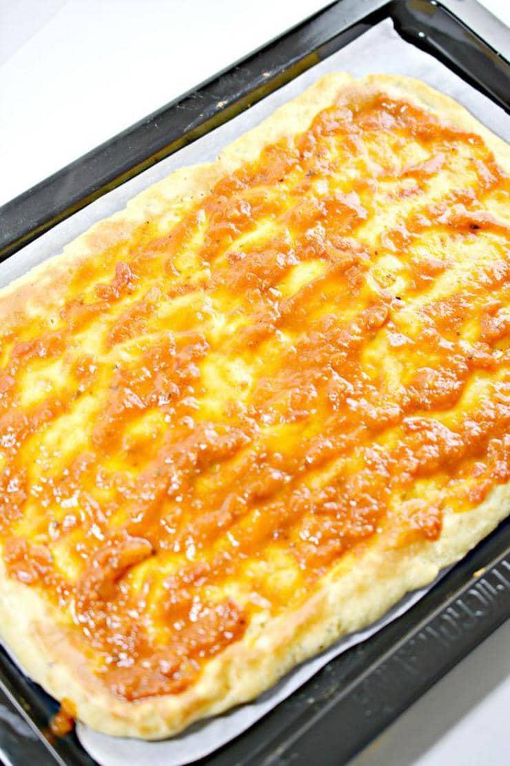 Keto Sheet Pan Pizza_Low Carb