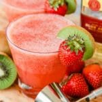 Keto Margarita – BEST Low Carb Strawberry Margarita Punch Recipe – EASY Ketogenic Diet Alcohol Drink Mix You Will Love