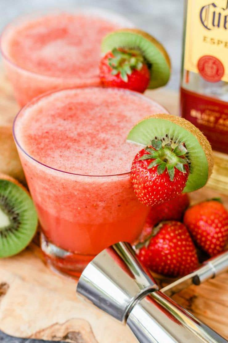 Keto Margarita Best Low Carb Strawberry Margarita Punch Recipe Easy Ketogenic Diet Alcohol Drink Mix You Will Love