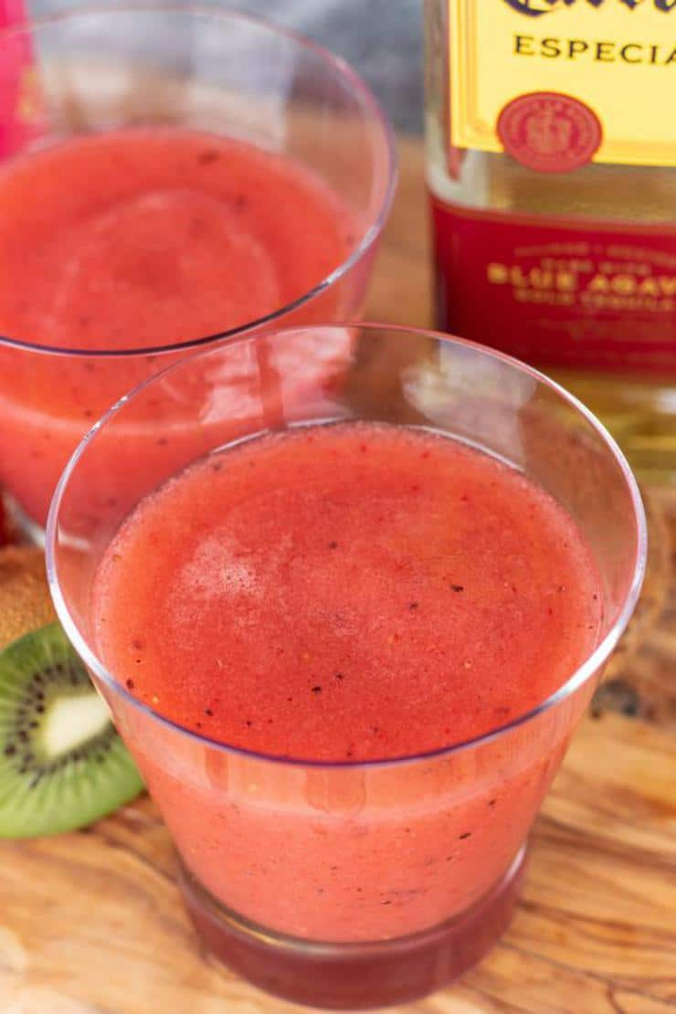 Keto Strawberry Margarita Punch