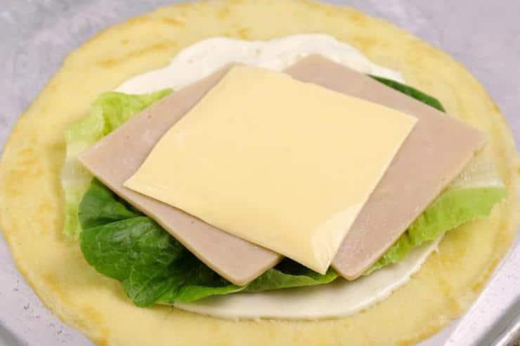 Keto Turkey Cream Cheese Wraps