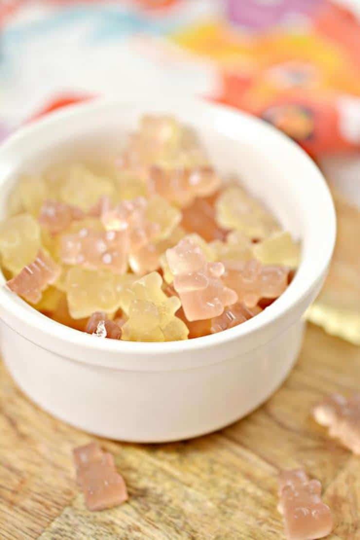 BEST Keto Candy! Low Carb Keto Wine Gummy Bear Candies Idea – Quick & Easy Ketogenic Diet Recipe – Completely Keto Friendly - Gluten Free - Sugar Free