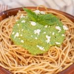 Pesto Sauce – EASY Pesto – BEST Healthy Creamy Pesto Sauce - Dinners – Lunch – Side Dishes - DIY Homemade Pesto Sauce For Pasta