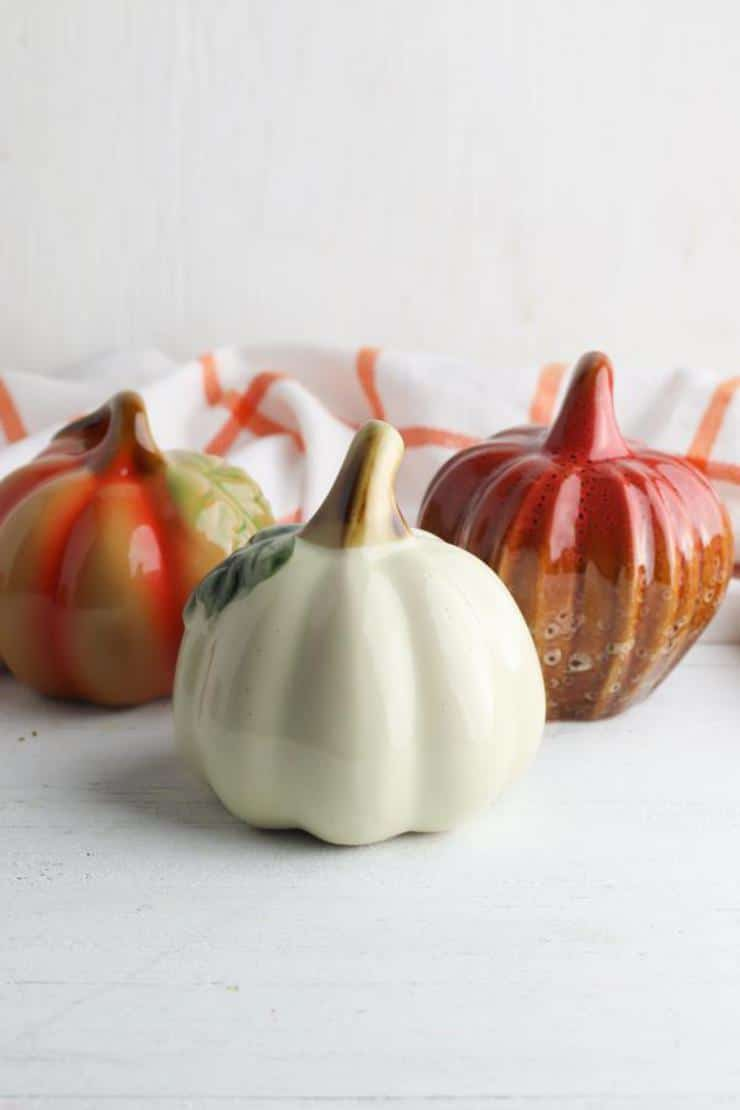 Rae Dunn Inspired Farmhouse Pumpkins