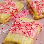Strawberry Pop Tarts – {EASY} Breakfast Pastries – Homemade Pop Tarts - Breakfast - Snacks - Desserts