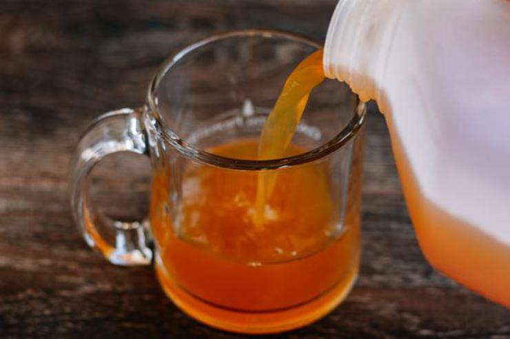 Alcohol Drinks Apple Cider Hot Toddy