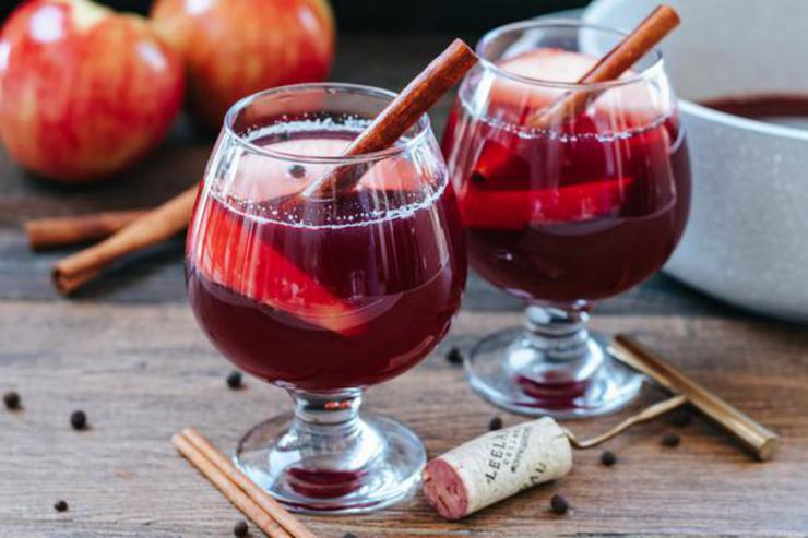 Alcoholic Drinks – BEST Spiked Harvest Punch Recipe – Easy and Simple On The Rocks Boozy Alcohol Drinks