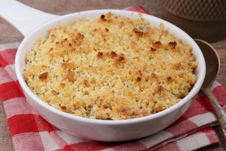 BEST Keto Apple Crisp! Low Carb Keto Apple Crisp Idea – Quick & Easy Ketogenic Diet Recipe – Completely Keto Friendly - Gluten Free