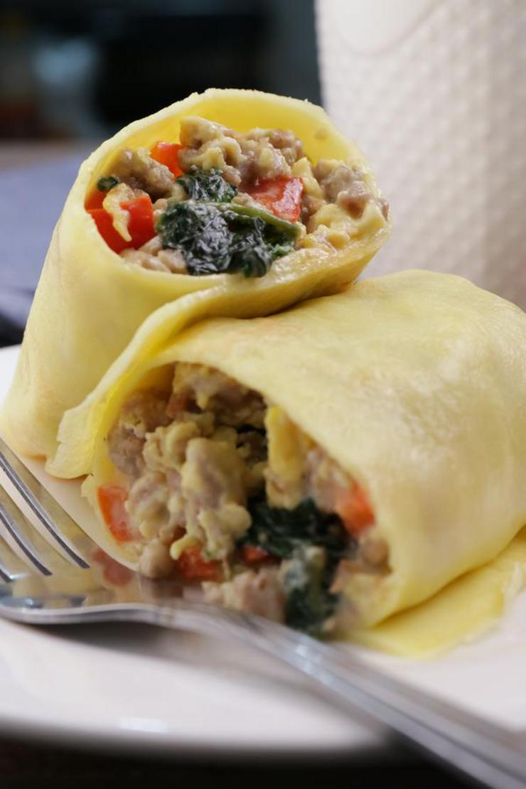 Keto Breakfast Taquitos! BEST Low Carb Keto Breakfast Wraps Idea – Quick & Easy Ketogenic Diet Recipe – Beginner Keto Friendly – Gluten Free