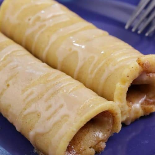 BEST Keto Cinnamon Roll French Toast Roll Ups – Low Carb Keto French Toast Cinnamon Roll Recipe – Gluten Free - Quick and Easy Ketogenic Diet Idea