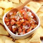 Keto Salsa – BEST Low Carb Fresh Tomato Salsa Recipe {Easy – Homemade} Gluten Free