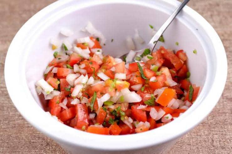 Keto Tomato Salsa