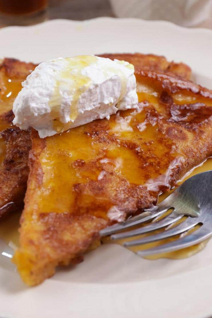 BEST Keto French Toast – Low Carb Gluten Free Pumpkin French Toast Recipe – 90 Second Microwave Bread For Easy Ketogenic Diet French Toast