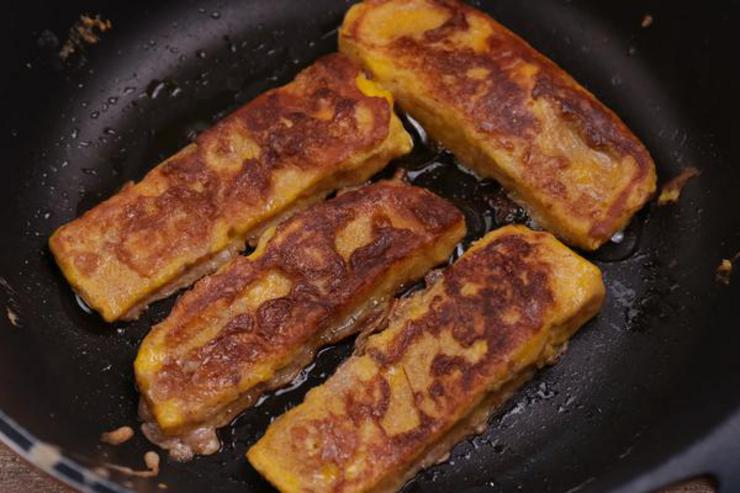Keto Pumpkin French Toast Sticks