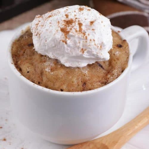 BEST Keto Mug Cakes! Low Carb Microwave Pumpkin Spice Latte In A Mug Idea – Quick & Easy Ketogenic Diet Recipe – Completely Keto Friendly Baking – Gluten Free