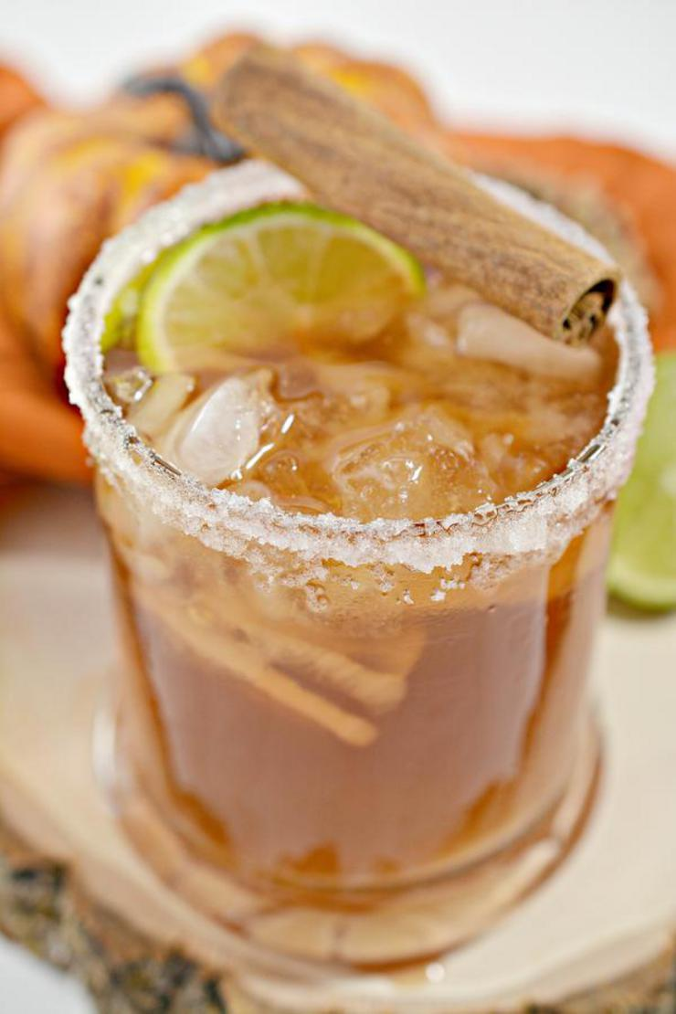 Keto Margarita – BEST Low Carb Thanksgiving Margarita Recipe – EASY Ketogenic Diet Alcohol Drink Mix You Will Love - Apple Cider