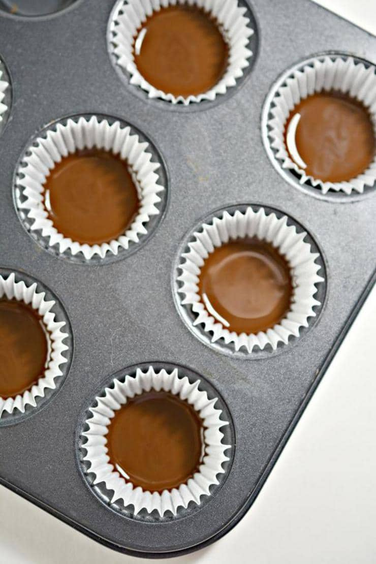 Keto Twix Mini Candy Cups