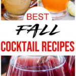 10 Fall Cocktails {Easy} Alcohol Drink Recipes - Best Alcoholic Fall Drinks