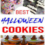 7 Halloween Cookies - EASY Halloween Cookie Recipes - Decorated Cookie Ideas