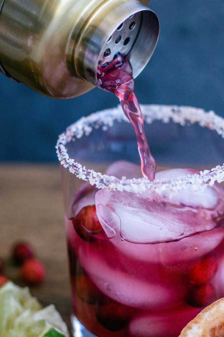 Alcohol Drinks Christmas Margarita