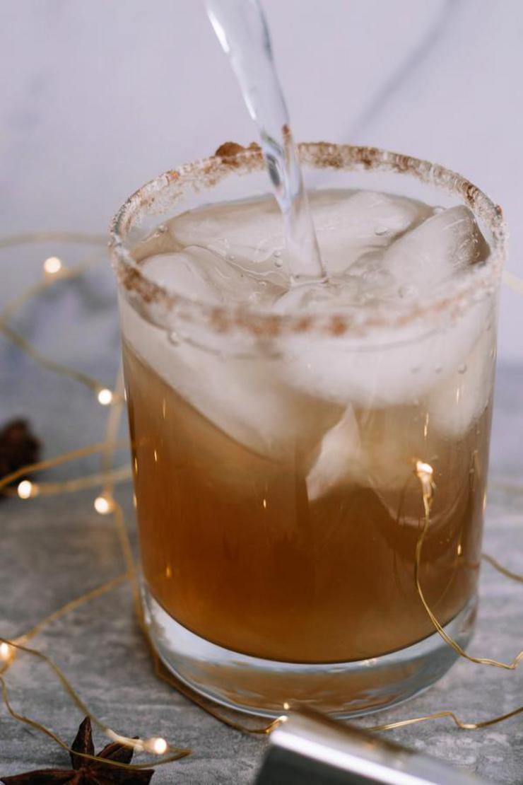 Alcohol Drinks Gingerbread Margarita