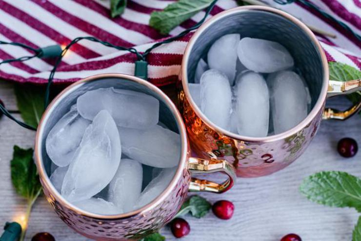 Alcohol Drinks Peppermint Moscow Mule