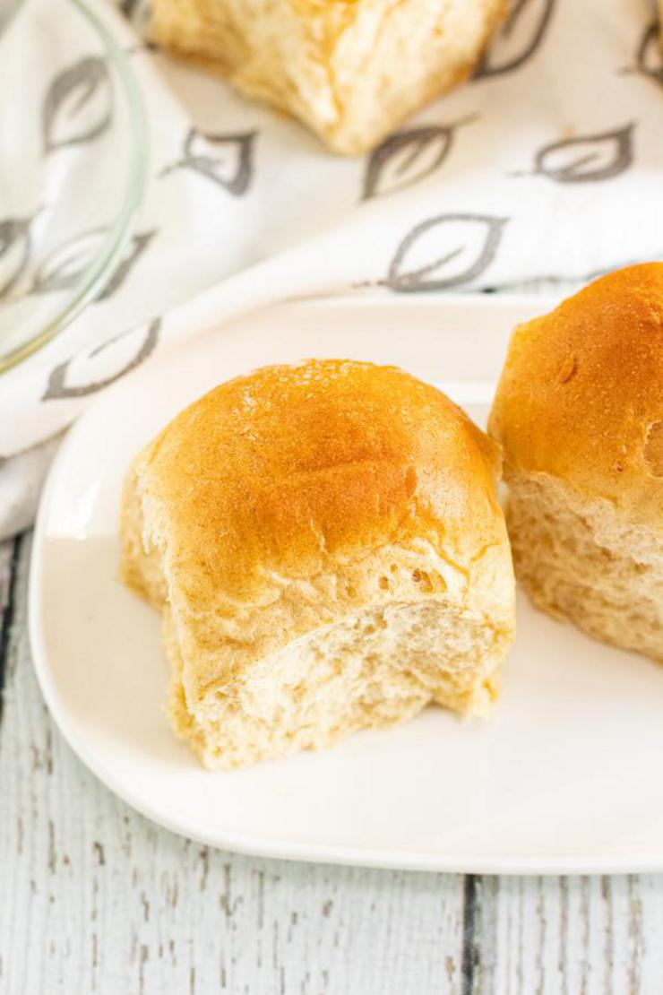 Homemade Dinner Rolls - YUMMY Applesauce Dinner Roll Recipe