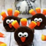 Turkey Brownies – BEST Edible Turkey Crafts – {Easy} Thanksgiving Desserts – Treats – Party Food – Desserts – Snacks