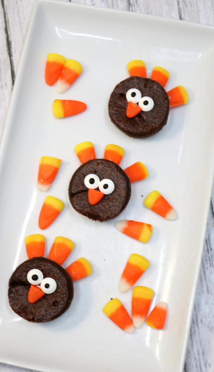 Diy Turkey Brownies