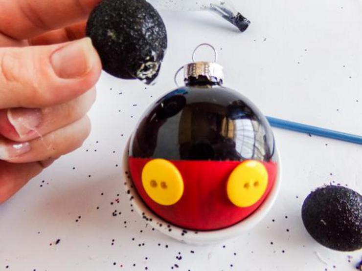Mickey Christmas Ornament