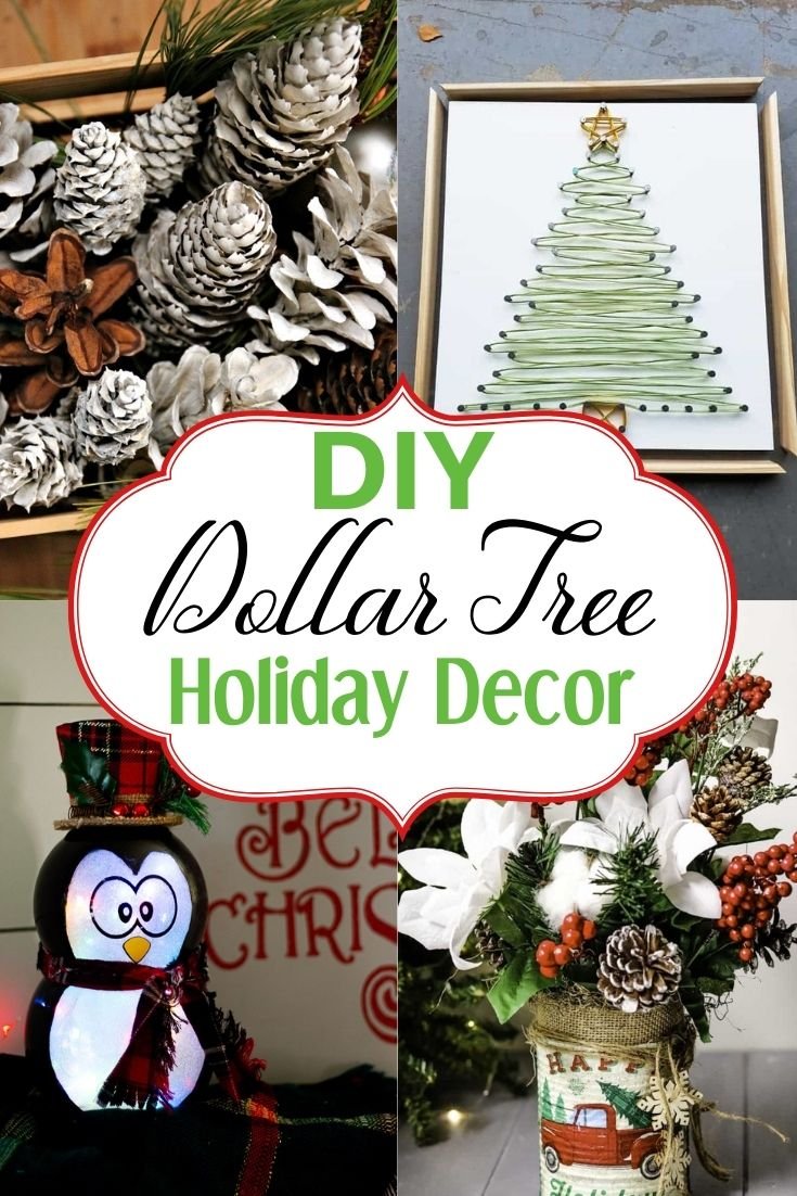 Best Dollar Store Christmas Decor Diy Holiday Decoration Ideas Learn How To Make Decor To Make Your Home Look Amazing Dollar Tree Hacks Homemade Christmas Decor