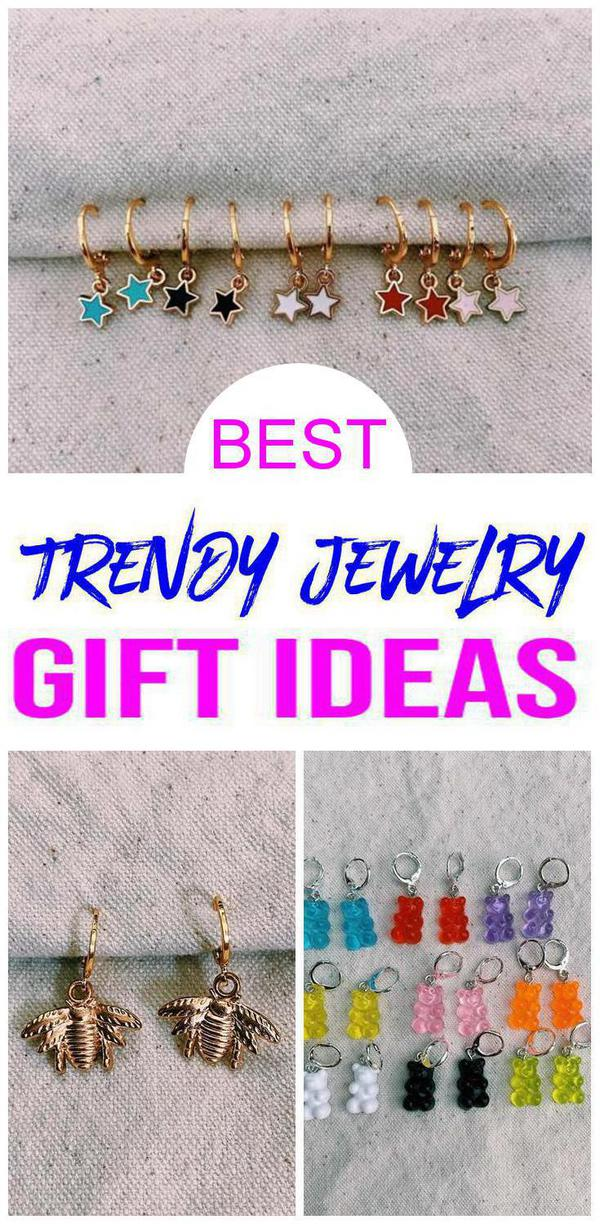 BEST Trendy Jewelry Gift Ideas - Teens - Tweens - Adults Will Love These Cheap Trendy Accessories