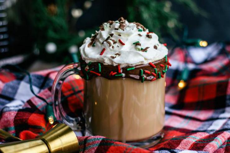 Alcohol Drinks Boozy Christmas Coffee