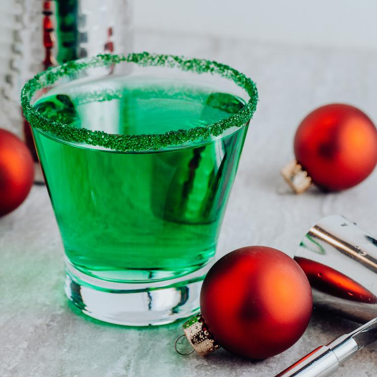 Alcohol Drinks Grinch Margarita