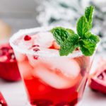 Alcoholic Drinks – BEST Mistletoe Christmas Margarita Recipe – Easy and Simple On The Rocks Alcohol Drinks