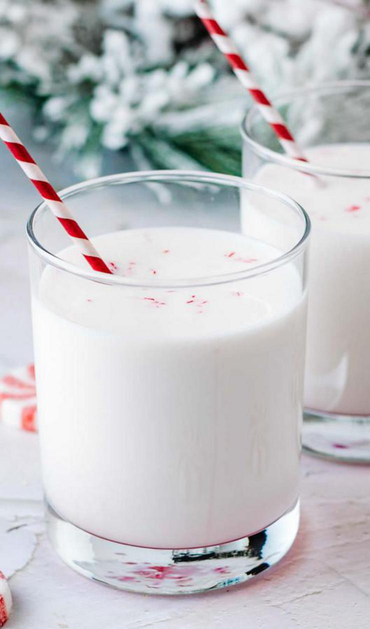 Alcohol Drinks Peppermint White Russian