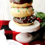 Easy Christmas Donuts - Christmas Breakfast - Desserts - Quick - Simple Christmas Baked Donut Recipe